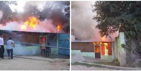 Fire at Mi Refugio